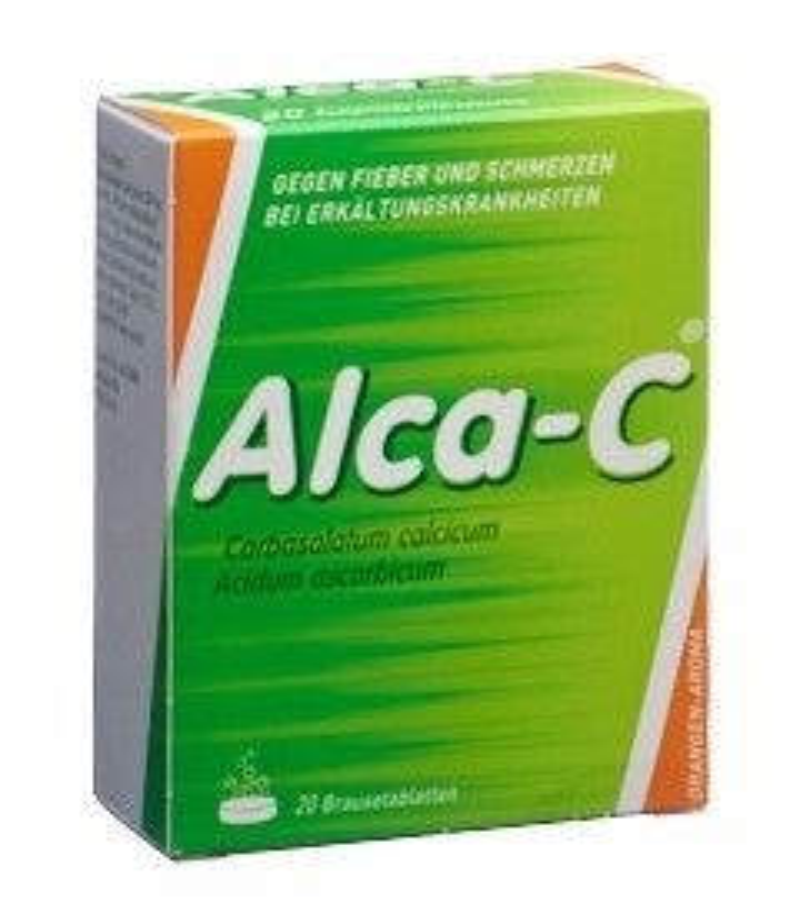 ALCA-C Brausetabl Ds 20 Stk