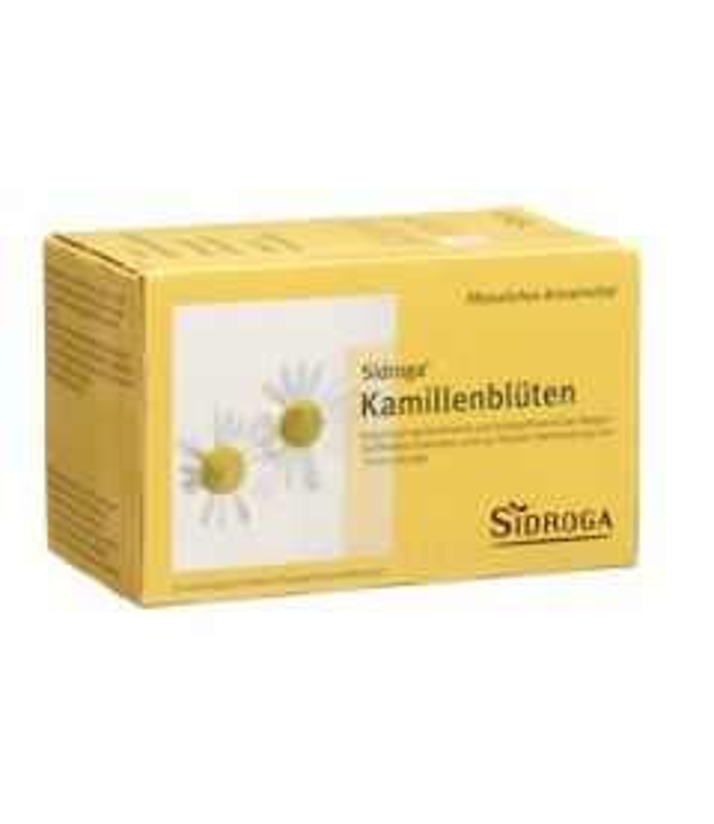 SIDROGA Kamillenblüten 20 Btl 1.5 g