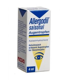 ALLERGODIL saisonal Gtt Opht Fl 4 ml