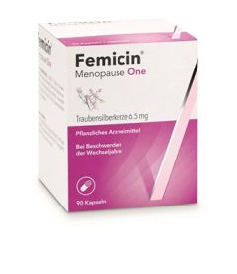 FEMICIN Menopause One Kaps 6.5 mg 90 Stk
