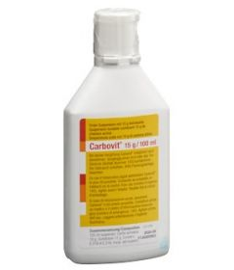 CARBOVIT Susp 15 g/100ml oral Fl 100 ml