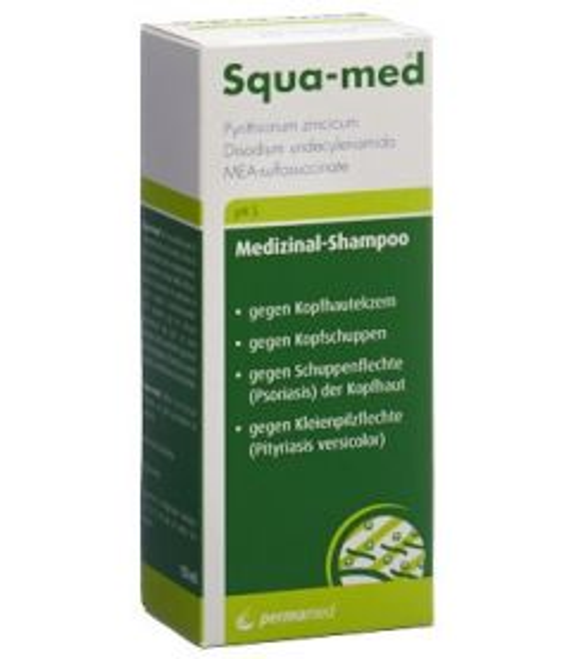 SQUA-MED Medizinal Shampoo pH 5 Tb 150 ml
