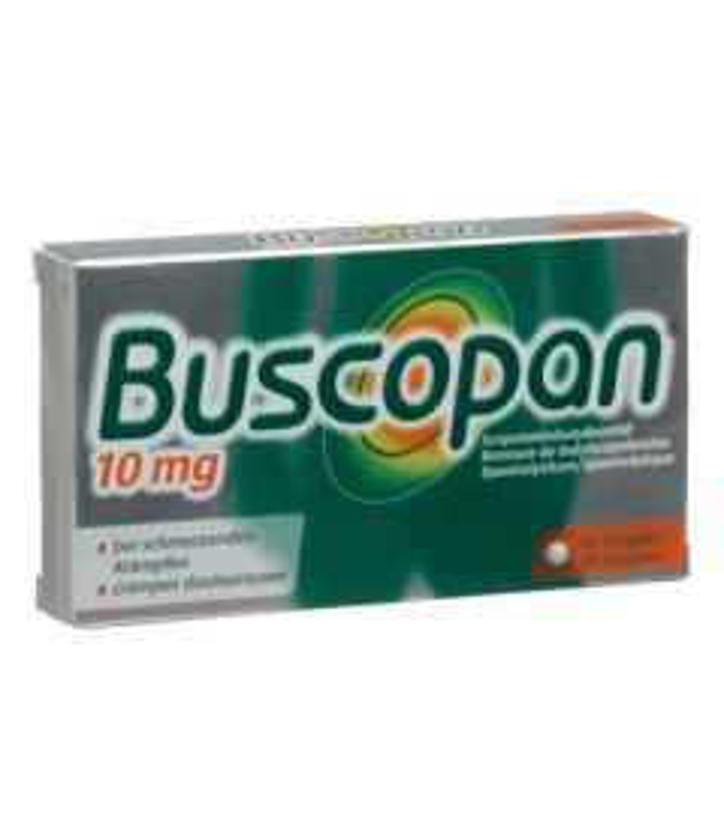BUSCOPAN Drag 10 mg 40 Stk