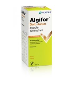 ALGIFOR Dolo Junior Susp 100 mg/5ml Fl 200 ml