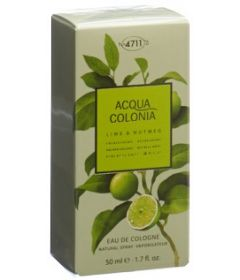 4711 ACQUA COLONIA Lime&Nutm EDC Spr 50 ml