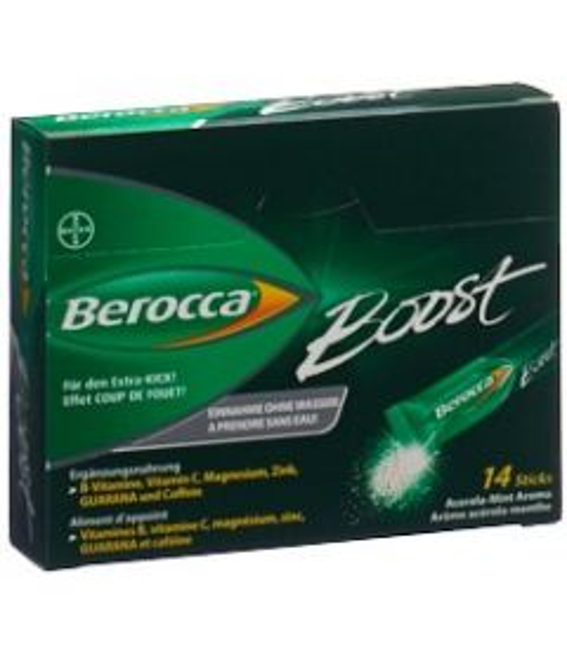 BEROCCA Boost Stick 14 Stk