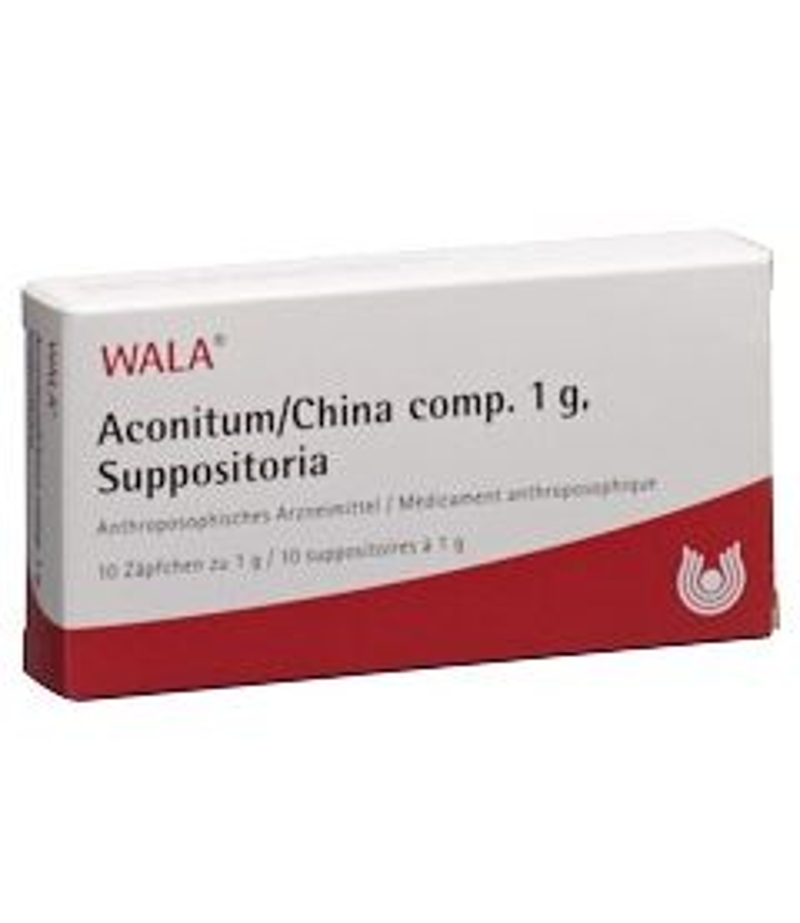 WALA Aconitum/China comp Supp 1g 10 Stk