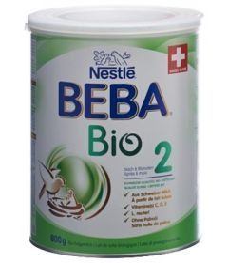 BEBA Bio 2 nach 6 Monaten Ds 800 g