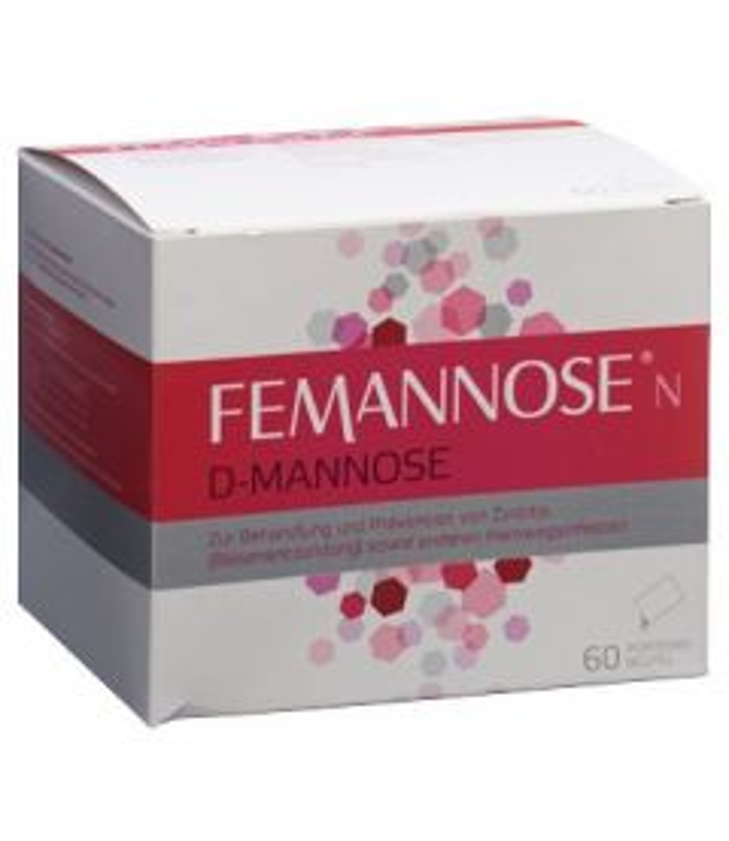 FEMANNOSE N Plv 60 Btl 4 g