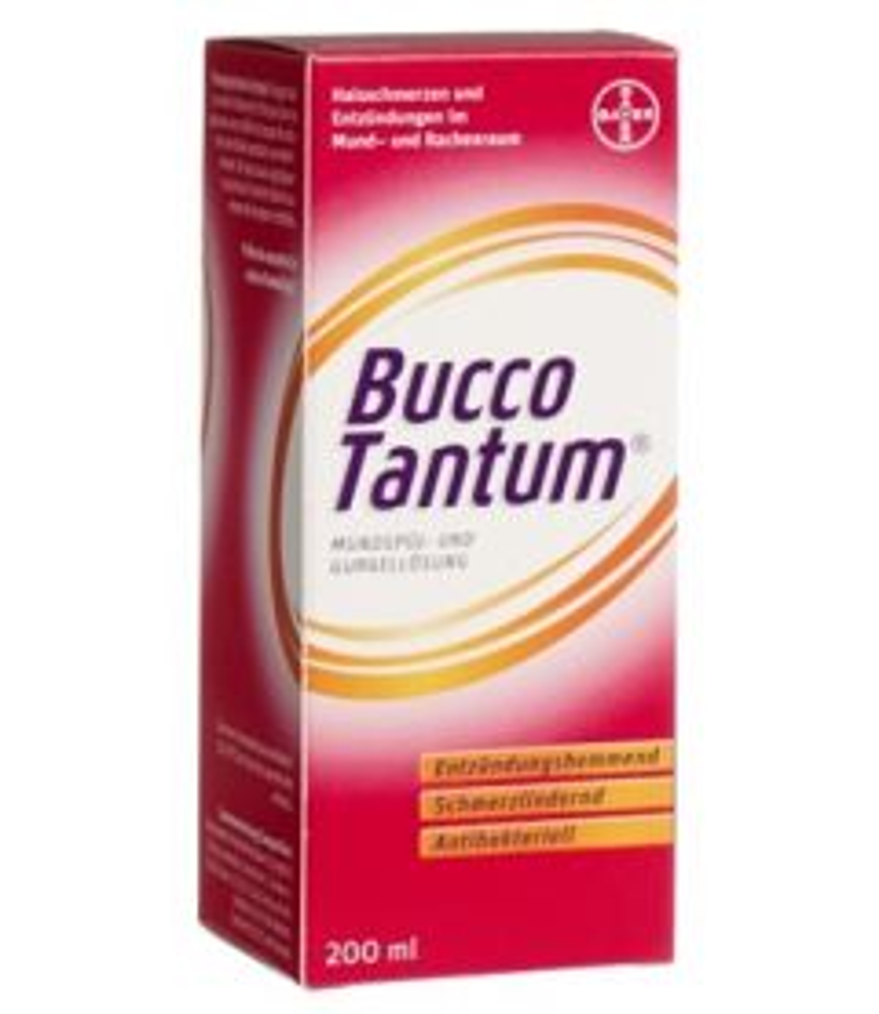 BUCCO TANTUM Mundspül- und Gurgellösung Fl 200 ml